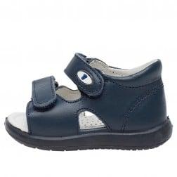 FALCOTTO NEW RIVER - Sandalo in pelle - Navy
