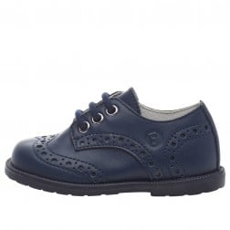 FALCOTTO TICKLE - Scarpa allacciata con brogue - Blu