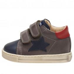 FALCOTTO SASHA VL - Sneakers in pelle - Blu/Grigio