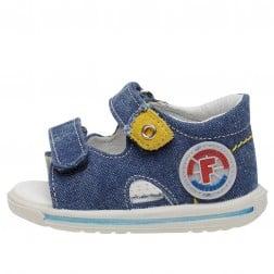 FALCOTTO NEMO - Denim sandals - Jeans
