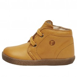 FALCOTTO CONTE - Leather lace-ups - Tan