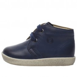 FALCOTTO CONTE - Leather lace-ups - Navy-blue