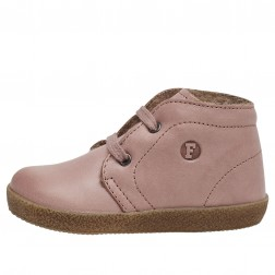 FALCOTTO CONTE - Leather lace-ups - Antique pink