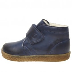 FALCOTTO CONTE VL - Leather sneakers - navy