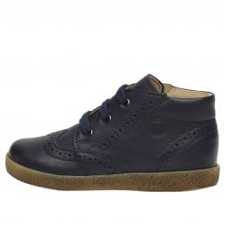 FALCOTTO CUPIDO - Leather lace-ups - Navy