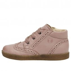 FALCOTTO CUPIDO - Leather lace-ups - Antique pink