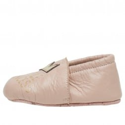 FALCOTTO TATER - Crib shoes with crown - Pale pink