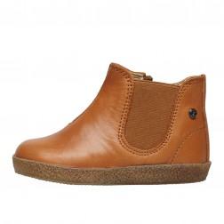 FALCOTTO CALVIN - Ankle Boots - Cognac
