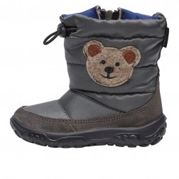 FALCOTTO POZNURR BEAR - Padded boot - Blue