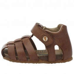 FALCOTTO ALBY - Sandale semi-fermée en cuir - Cuir