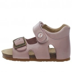 FALCOTTO BEA - Leather sandals - Pink