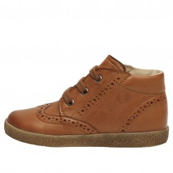 FALCOTTO CUPIDO - Leather lace-ups - Cognac