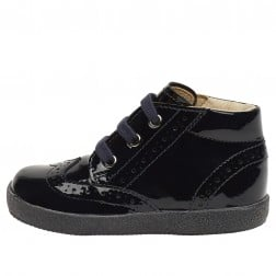 FALCOTTO CUPIDO - Patent leather lace-ups - Blue