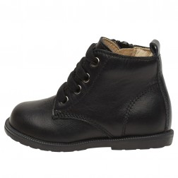 FALCOTTO ROBIN NEW - Leather ankle boots - Black