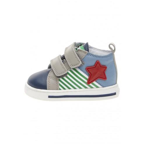 FALCOTTO DIVAC VL - Ledersneaker - Marineblau