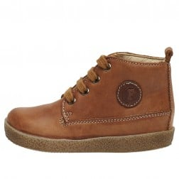 FALCOTTO CELIO - Leather lace-up - Leather