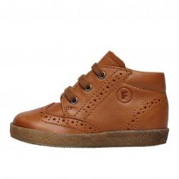 FALCOTTO CUPIDO - Leather lace-ups - Cognac