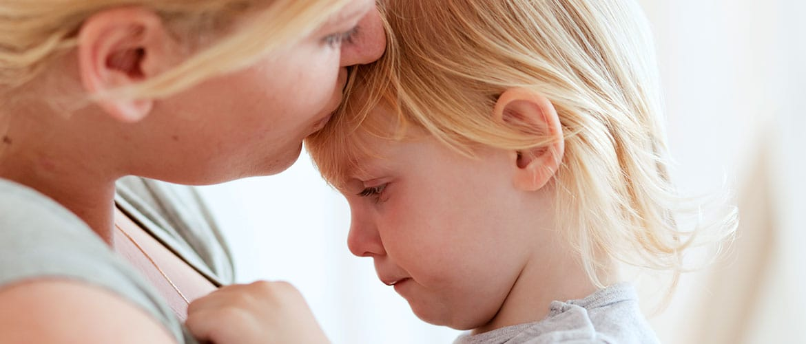 "Why is it wrong to say to children ""don't cry!"""