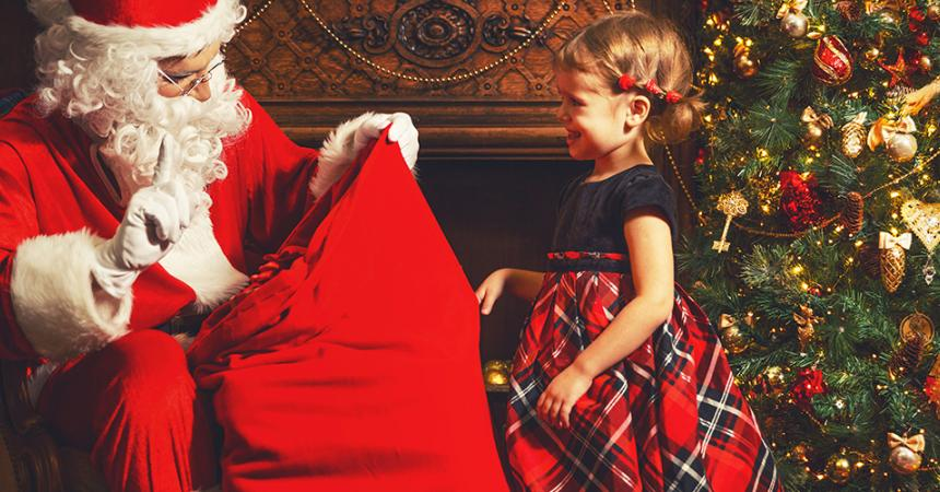 "How Sofia met the ""Real"" Santa Claus"