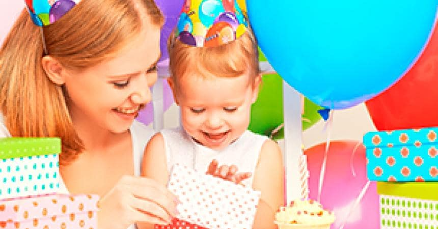 Your child's first birthday parties!