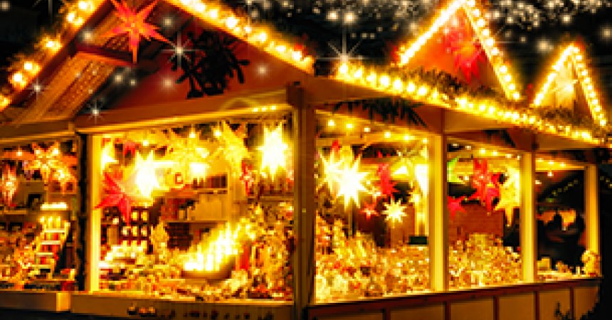 A trip to christmas markets made to measure for children
