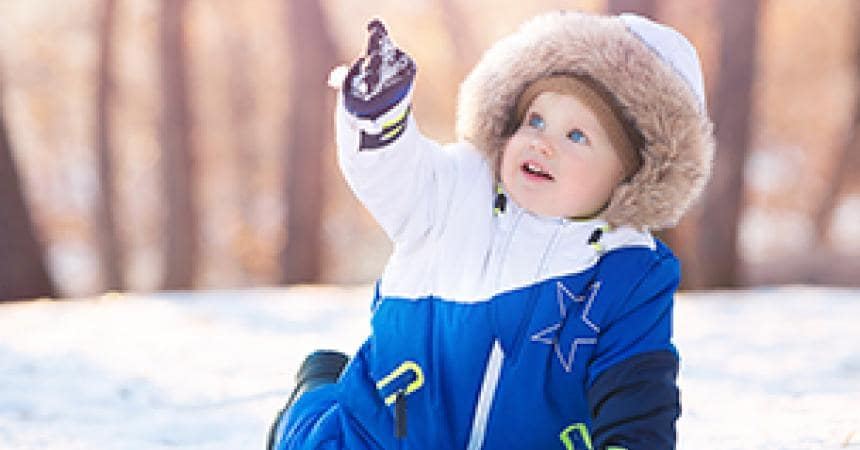 Their first time out in the snow? Suggestions and tips for making the most of it.