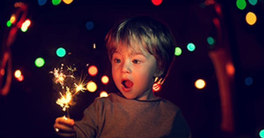 """""""Che paura i fuochi d'artificio, mamma!"""""""