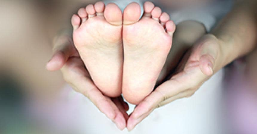 The development of childrens feet