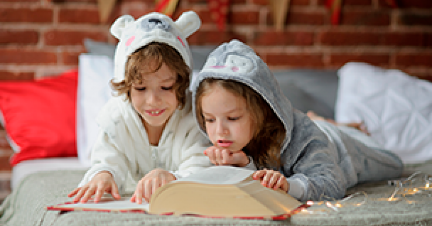 A pyjama party for under 5s