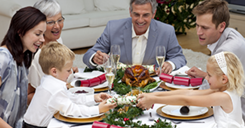Family lunches and dinners: teaching your kids table manners.