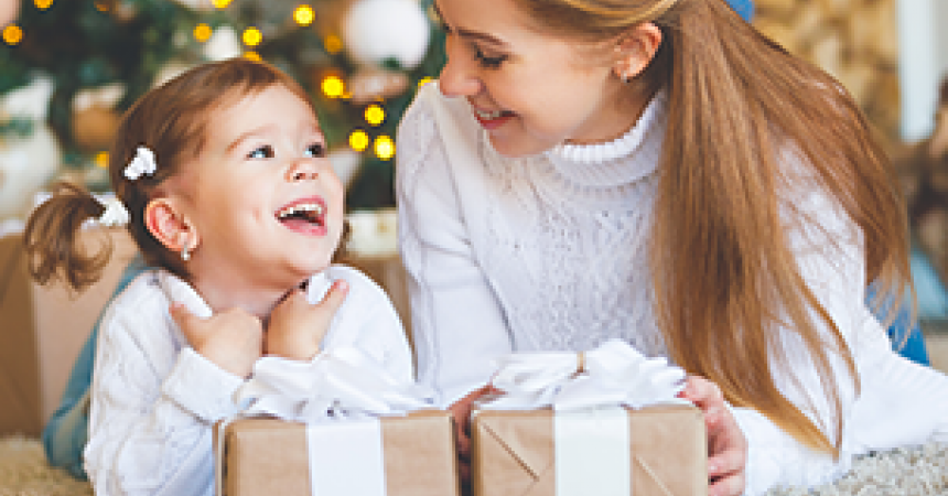 How many gifts are there under the Christmas tree? Or how to stop your kids from getting too many gifts