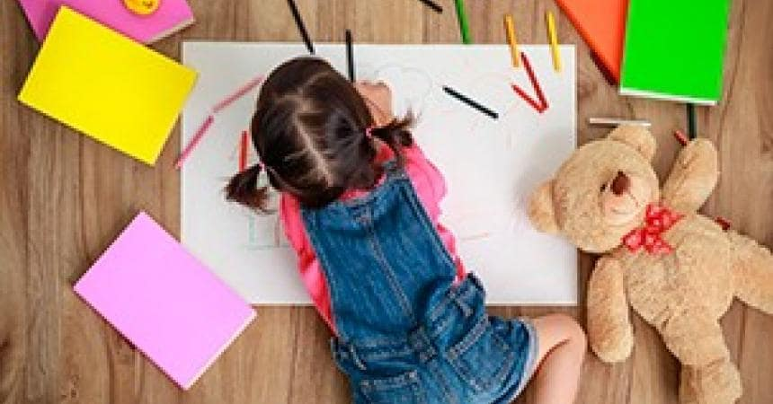 Your child's first drawings