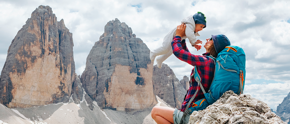 Have you ever heard of baby-trekking?