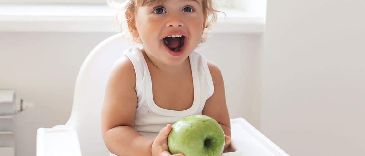 The importance of fruit during weaning