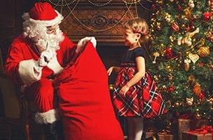 Quand Sofia a rencontré le  « vrai » Père Noël