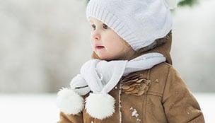 Wie schützt man Kinder vor den ersten kalten Tagen