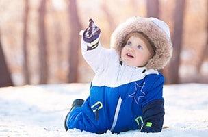 Das erste Mal im Schnee!
