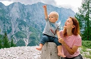 Die wohltuende Wirkung der Berge auf Kinder