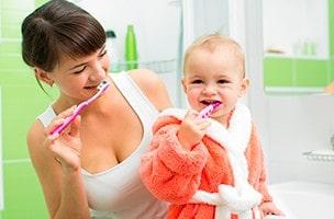 Apprenons à nous brosser les dents